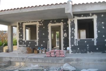 Εξωτερική Θερμομόνωση Σπιτιού στην Αμμουδιά Πρεβέζης