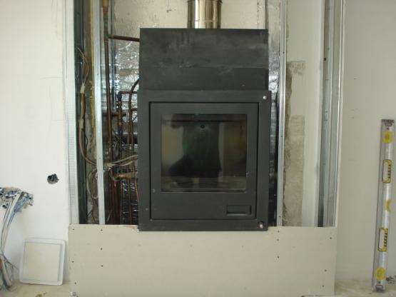 Εγκατάσταση Ενεργειακού Τζακιού AQUAFLAM N17 FLAMINGO