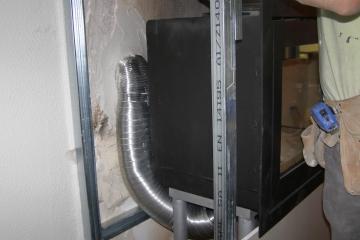 Τοποθέτηση Γωνιακής Ενεργειακής Εστίας METEOR 550