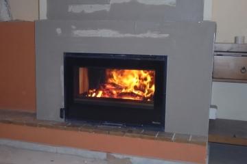 Τοποθέτηση Ενεργειακής Εστίας La Nordica – Inserto