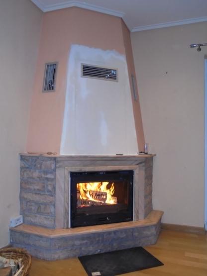 Τοποθέτηση Ένθετης Ενεργειακής Εστίας La Nordica – Inserto 70 Ventilato