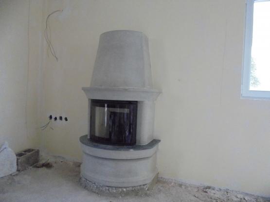 Εγκατάσταση Ενεργειακού Τζακιού Nordpeis – Geilo Straight
