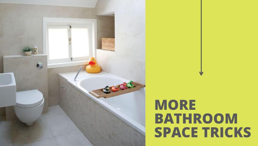 Κάντε το Μικρό Μπάνιο Σπιτιού να Φαίνεται Μεγαλύτερο