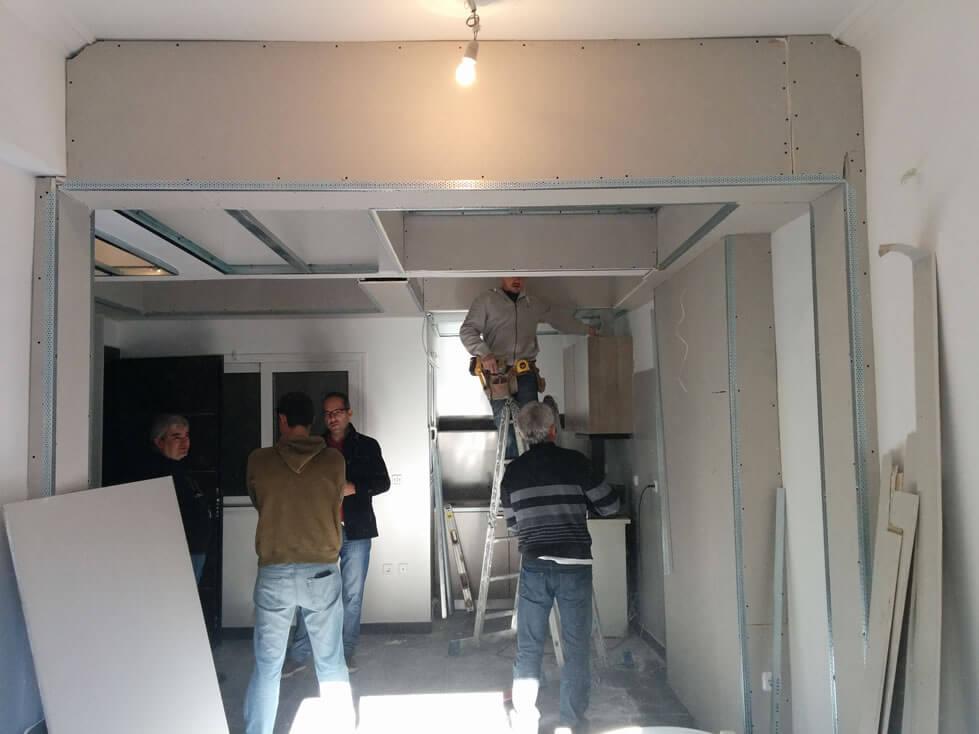 Ανακαίνιση Διαμερίσματος 48 τ.μ. στο Κέντρο της Αθήνας