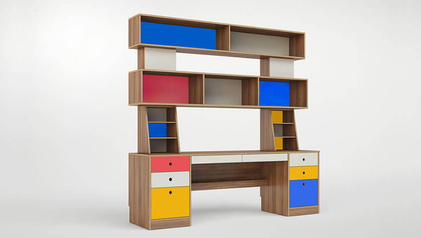 Σύστημα Γραφείου Για Όλες τις Ηλικιακές Φάσεις του Παιδιού