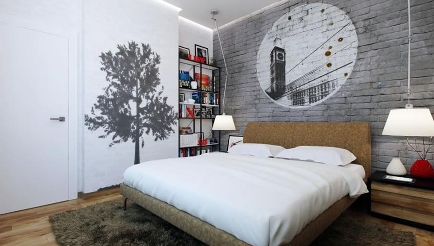 Τόλμησε Διακόσμηση με Graffiti στο Εσωτερικό του Σπιτιού