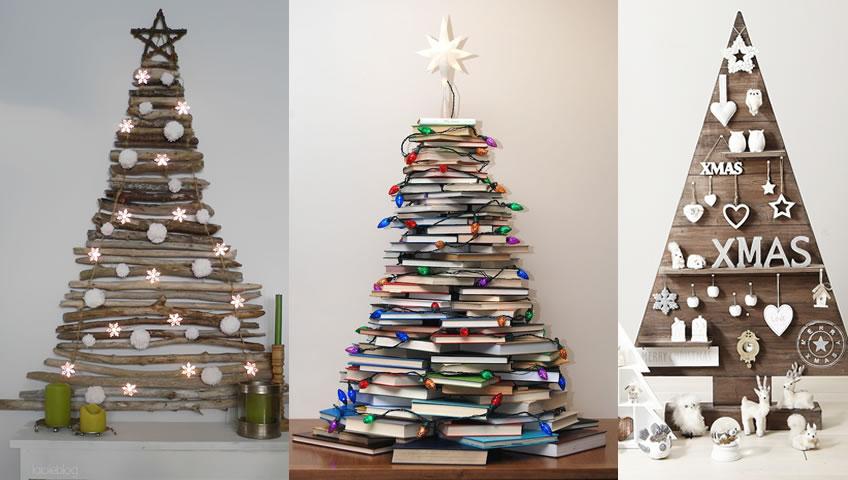 Φτιάξετε το Δικό σας Εναλλακτικό Χριστουγεννιάτικο Δέντρο